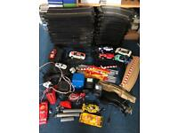 Huge bundle of scalextric track cars power supplies