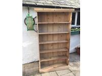 Victorian antique bookcase shelf unit 150 years old