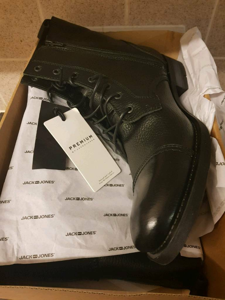 more photos 79552 3d3b3 new black size 11 savek Jack Jones boots
