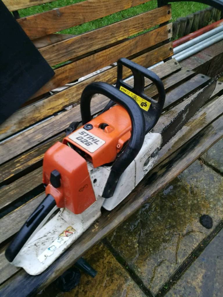 Stihl 026 Chainsaw Spares Or Repair