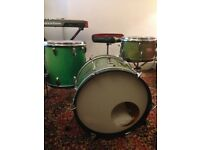 Vintage Drum kit Sonor Teardrop/Swinger 20, 16, 13