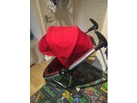 Quinny Zapp Xtra 2 in great working order with original basket and rain cover