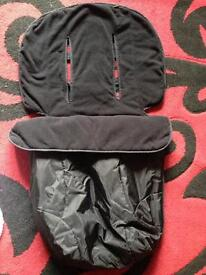 New Mothercare all weather footmuff
