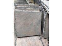 18 Square Garden Paving Stones Slabs 60cm x 60cm