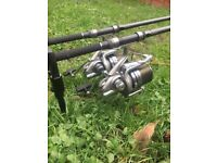 Full carp fishing set up delkim diawa fox Korda cygnet shimano nash
