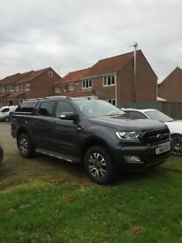 FORD RANGER WILDTRAK 4x4 TDCI , LIKE NEW. 1 owner , automatic,