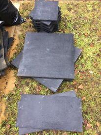 Black limestone Paving slabs