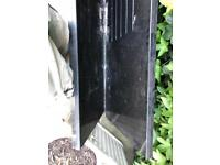 Used black granite worktops two pieces over 6 feet long