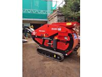 Red Rhino concrete crusher, 3-tonne mini digger and driver for hire