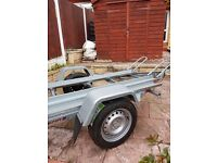 New trailer motorbikes two channel bike 750kg