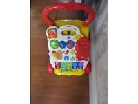 VTech First Steps Baby Walker YELLOW/ Multi Colour