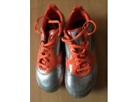 Kids football boots, size 1