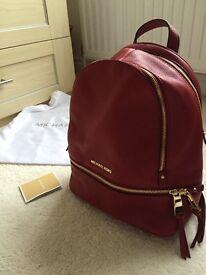 Michael Kors genuine new leather handbag with receipt