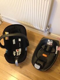Newborn Car seat & Isofix
