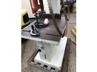 Band saw 3phase with dust extracter