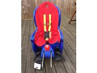Hamax rear children's bike seat