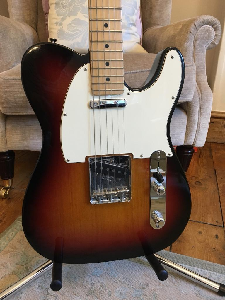 2007 Fender American Telecaster – Sunburst - Maple