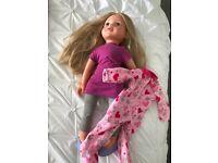 Design a friend doll.