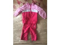 Girls Genuine Nike tracksuit 18-24 months