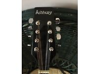 Ashbury Mandolin VGC leather strap & carry case included