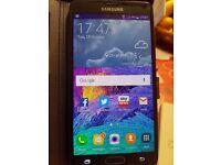 Galaxy Note 4 like new .