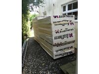 Insulation 150mm rigid foil backed. Eco Therm similar to Celotex and Kingspan