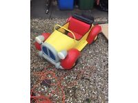 Noddy pedal car