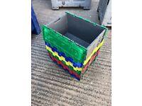 Creates / large storage boxes