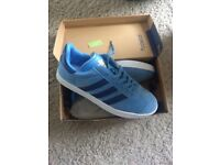 Brand new boxed adidas gazelles sizes 7 and 10