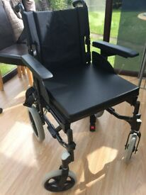Invacare Action Attendant Wheelchair - lightly used