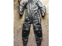 RST 1 piece motorcycle leathers