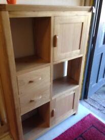 Oak display unit £340
