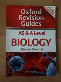 AS and A Level Biology Through Diagrams: Oxford Revision Guides [Book]