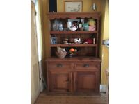 Rustic kitchen dresser