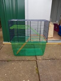 2 x Gerbil cages