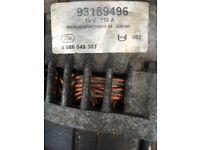 Alternator for Astra H 1,7 CDTi