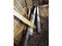 Fencing - 2 Slotted Int Post and 2 Gravel Boards