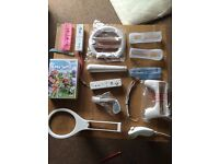 Nintendo Wii, 3 games and Wii sports and Wii Play extras