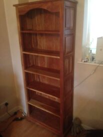 Beautiful solid sheesham bookcase