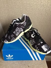 ADIDAS ORIGINALS ZX FLUX MENS TRAINERS UK SIZE 7