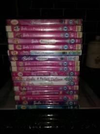 17 Barbie DVDs