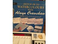 Painting Set - Alwyn Crawshaw