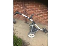 Motocaddy golf trolley