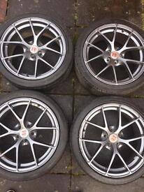 "£190 ono Seat ibiza 17"" wheels, good condition"