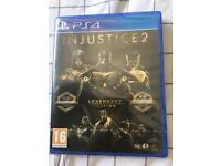 Injustice 2 for PS4 - unopened