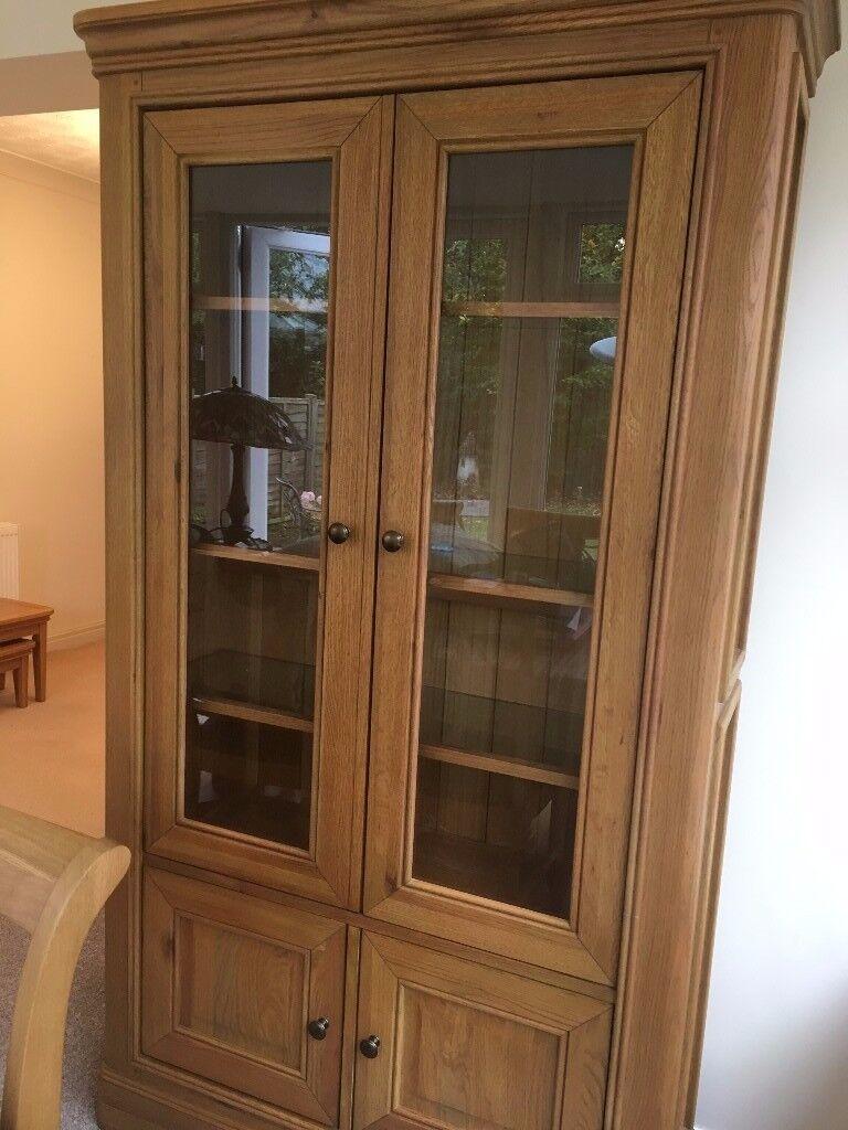 Salerno Dining Room Oak Cabinet