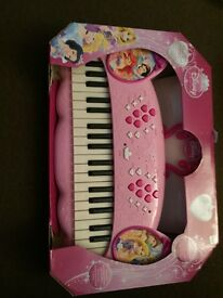 Disney Princess Keyboard brand new
