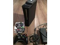 Xbox 360 console and game. Can post