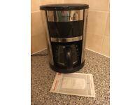 Morphy Richards coffee machine with manual
