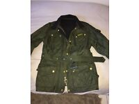 Barbour international Jacket Khaki green